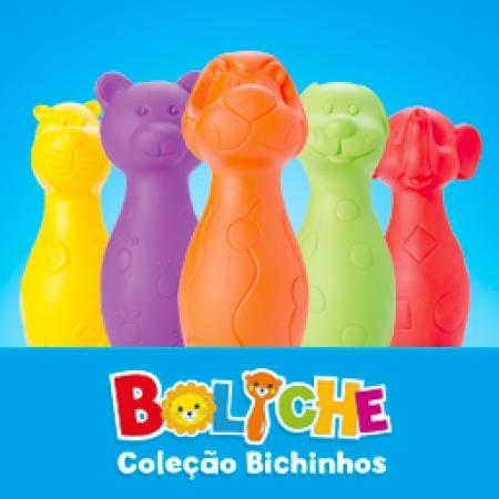 COLECAO BICHINHOS - BOLICHE