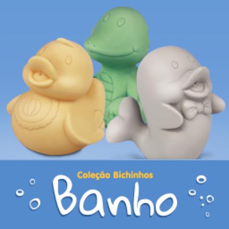 COLECAO BICHINHOS PARA BANHO - SOLTOS