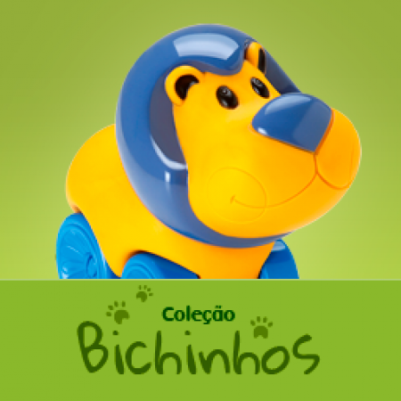 COLECAO BICHINHOS COM RODINHAS SORTIDOS