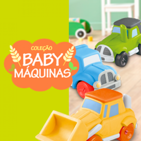 COLECAO BABY MAQUINAS